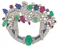 art_deco_tutti_frutti_gemstone_and_diamond_brooch_in_platinum