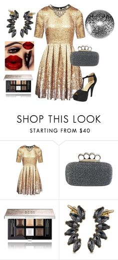 """Heavy Metals"" by chicastic ❤ liked on Polyvore featuring Matthew Williamson, Givenchy and Carolee"