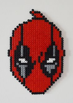 Deadpool Hama beads by Niflet
