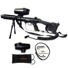Tippmann A5 Heavy Gunner Paintball Gun Kit - Egrip (Misc.)  http://best-paintball-gun.com  B0017K02YG