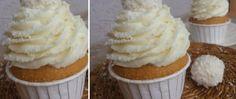 Fantastické vanilkové muffiny s RAFFAELLO krémem Cap Cake, Muffin Recipes, Cupcake Cookies, Coffee Break, Croissant, Sweet Recipes, Muffins, Cheesecake, Deserts
