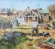 British Artist John LINES - Help Mate