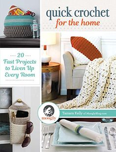 No crocheter's #home #decor is complete without a little yarny goodness. From the foyer to the kitchen and every room in between, #Quick #Crochet for the Home has easy and fresh #patterns you'll love to #stitch for all your living spaces.