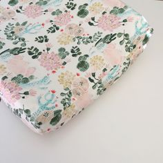 A personal favorite from my Etsy shop https://www.etsy.com/listing/111001835/girls-crib-bedding-fitted-crib-sheets