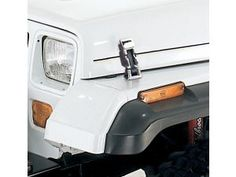 Kentrol Tj Style Hood Latch Set For 42 95 Jeep Cj 2a Cj 3a Cj 3b Cj 5 Cj 7 Wrangler Yj Jeep Cj Jeep Jeep