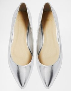 Enlarge ASOS LIFE STORY Pointed Ballet Flats