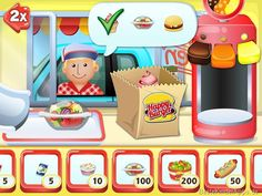 Drive In King Burgerrestaurant Spiel App Kinder iPad iPhone (39)