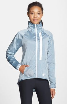Nike Tech Fleece Moto Cape Jacket available at #Nordstrom