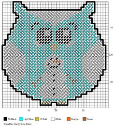 snowman owl made pattern