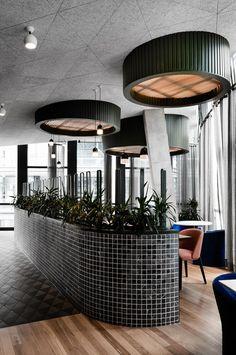 Untied Rooftop Bar in Sydney's Barangaroo by Technē
