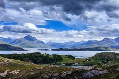 Loch Shieldaig and Upper Loch Torridon, Wester Ross - amazingly wonderful part of Scotland.   Wild and untouched.