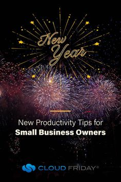 New Year Productivity - New Year, New You? // We're sharing productivity tips for entrepreneurs and small business owners. If you're wondering how to set new years resolutions that work - check out these productivity tips. You can be more productive this year in your small business! #smallbusinesstips #smallbusinesstipsandtricks #productivity #beproductive
