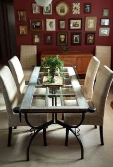 Wrought Iron Dining Room Table Base - Home Ideas