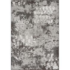 Found it at Wayfair - Mysterio Silver Area Rug