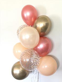innovative design cf0f4 56e44  rosegoldrings Déco Party, Anniversaire De Mariage, Anniversaires, Bonjour,  Fête D
