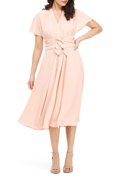 Shop a great selection of Gal Meets Glam Collection Jane Tie Waist Midi Dress (Nordstrom Exclusive). Find new offer and Similar products for Gal Meets Glam Collection Jane Tie Waist Midi Dress (Nordstrom Exclusive). Plus Size Dresses, Dresses For Work, Summer Dresses, How To Dress For A Wedding, Gal Meets Glam, Nordstrom Dresses, Jumpsuits For Women, Women's Fashion Dresses, Wrap Dress