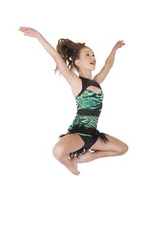 Contemporary Dance Costume - Jungle African Tribal- Jazz Costume