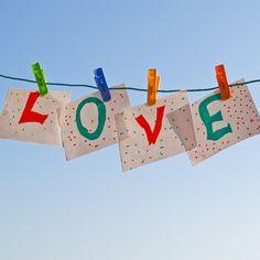 Love is in the air | @FairMail - Fair Trade Cards Greetz Store | Valentine's Day Card | Love, Air, Sky, Kids