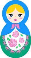 Resultado de imagem para desenhos de bonecas matrioskas