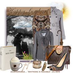 """""""HAPPY SUNDAY!!: """"April Showers Bring May Flowers"""""""" by enjoyzworld on Polyvore"""
