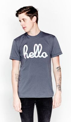 Hello Floral Tee