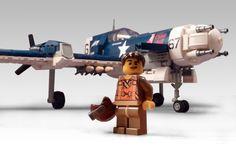 F-49A Patriot   Flickr - Photo Sharing! Lego Avion, Steampunk Lego, Lego Plane, Lego System, Cool Lego Creations, Lego Bionicle, Big Guns, Lego Projects, Lego Moc