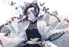 Demon Slayer, Slayer Anime, Manga Art, Anime Art, Otaku, Butterfly Drawing, Anime Wallpaper Live, 1080p Wallpaper, Chica Anime Manga