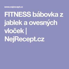 FITNESS bábovka z jablek a ovesných vloček | NejRecept.cz