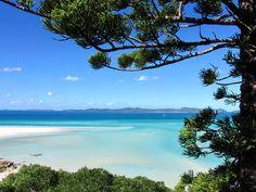 Playa de Whitehaven, Australia. Una de las mejores del mundo. Arena blanca y fina, agua cristalina y templada