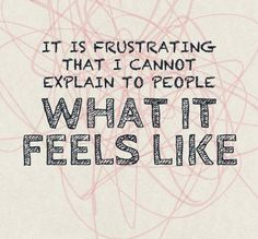 This is so true for chronic migraines and chronic illnesses.