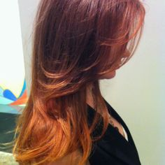 #ombre #color melting #aveda by Carly Flynn