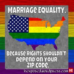 Support Federal Marriage Equality Rights