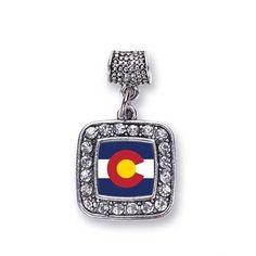 Colorado Flag Memory Charm