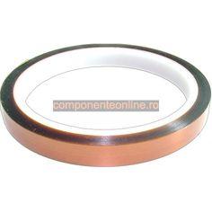 Banda poliamida, kapton, rezistenta la temperaturi inalte, 9mm - 117079