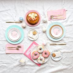 girly delicious brunch- what a way to start the day!
