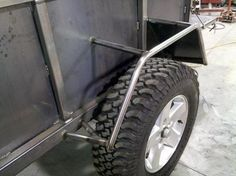 High Clearance Offroad Trailer - : and Off-Road Forum Trailer Grill, Camping Trailer Diy, Welding Trailer, Bug Out Trailer, Truck Camping, Off Road Utility Trailer, Off Road Trailer, Custom Trailers, Cargo Trailers