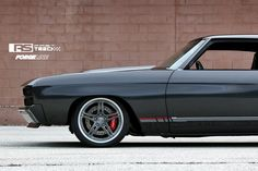 Wilwood Disc Brakes and Forgeline SC3C Concave wheels finished with Transparent Smoke centers and Brushed outers on Alex's '70 Chevelle by Roadster Shop.