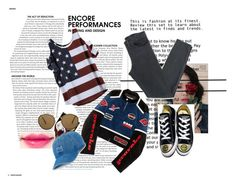 """R O S E G A L"" by flowerxan ❤ liked on Polyvore featuring Hyein Seo, Acne Studios, Converse, Ray-Ban and SO"