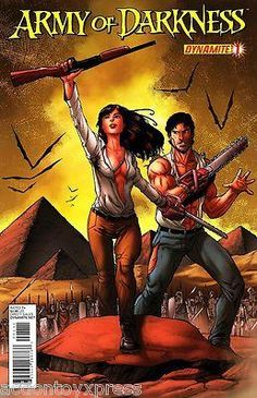 Dynamite Entertainment 2012 Army of Darkness #1 Mint Rare 1st print sold out