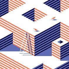 Vector Shadows Illustrations | Malika Favre