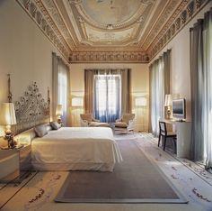 Hospes Palacio de los Patos in Granada, Spain: a restored mansion with a bold alabaster-and-glass wing, offering a choice of romantic or contemporary rooms.  http://www.i-escape.com/hospes-palacio-de-los-patos/overview