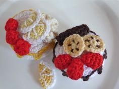 cakes amigurumi crochet