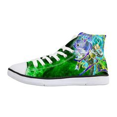 Green Vegeta Dragon Ball Converse Sneakers Teen Hoodies, High Top Sneakers,  Converse Sneakers, cac6ccb163b