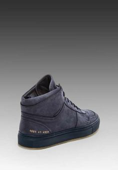Love the Common Projects Bball High on Wantering.
