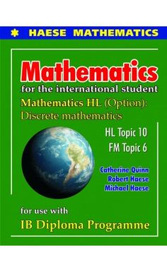 Each Topic has undergone a thorough review, taking into consideration syllabus changes and teacher feedback. The new format allows for additional content/material to be included where necessary, creating a comprehensive resource for students studying Mathematics HL and Further Mathematics HL. ISBN: 9781921972348