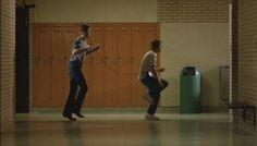 Footloose 1984 my favorite Scene is when Ren is teaching Willard how to dance :)