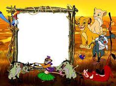 """Képtalálat a következőre: """"lion disney photo frame png"""""""