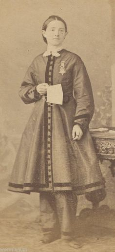 1860's Dr. Mary Walker - Feminist Abolitionist Alleged spy Confederate POW