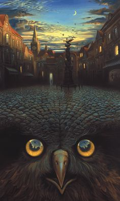 Vladimir Kush..saw some of his work in Vegas and fell in love. so talented.