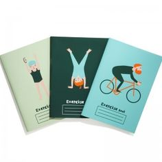 Donna Wilson Exercise Books for CREATE London 2012 available now!